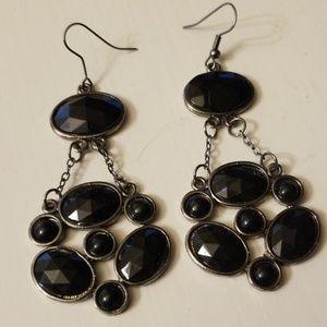 Jewelry - Black Dangle Earrings